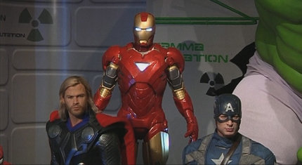 The Avengers a New York