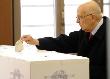 Giorgio Napolitano a Roma
