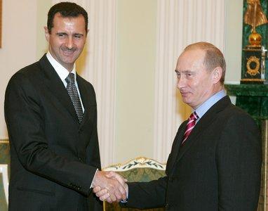 Assad e Putin in una foto d'archivio