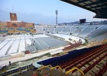 Lo stadio Dall'Ara a Bologna