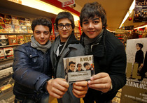 Trio 'Il volo' incontra i fan