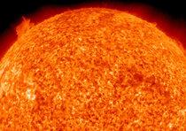 Il Sole e' in pieno tumulto (Sito NASA)