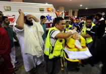 Bahrein, i soccorsi ai feriti