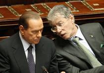 Silvio Berlusconi e Umberto Bossi