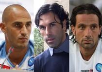 Paolo Cannavaro, Matteo Gianello e Gianluca Grava