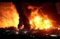 L'incendio Venezuela (foto tratta da El Nacional)