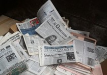 Daily newspaper sales have fallen by one million copies over the past five years.