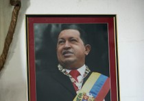Praying for the health of Venezuelan president Hugo Chavez in Havana