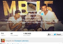 Mario Balotelli sulle orme di Jim Morrison twitta 'This is the end' dopo l'1-1 del Milan col Genoa