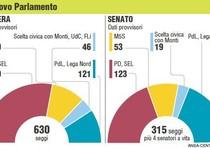 Parlamentari italiani piu 39 giovani in ue elezioni 2013 for Composizione parlamento italiano