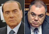 Silvio Berlusconi e Sergio De Gregorio