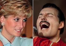 Lady Diana e Freddie Mercury