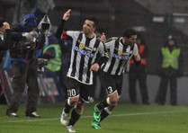 Soccer: Italy Cup; Udinese-Fiorentina