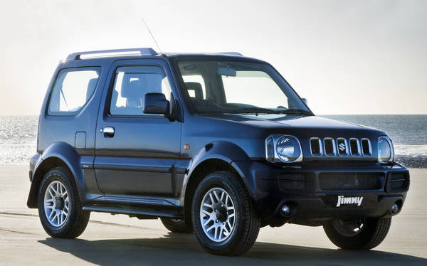 suzuki jimny festeggia 40 anni con la limited edition prove e novit. Black Bedroom Furniture Sets. Home Design Ideas