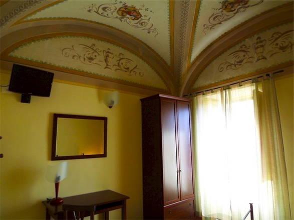 Le Stanze del Re, con soffitti affrescati e volte a crociera