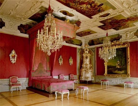 I tesori del castello di eggenberg foto racconti in viaggio - Camera da letto stile barocco ...