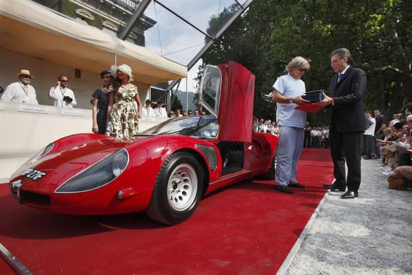 alfa romeo 33 stradale 39 best of show 39 concorso villa d 39 este motori. Black Bedroom Furniture Sets. Home Design Ideas