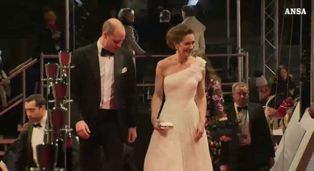 Kate sul red carpet con orecchini di Lady D © ANSA
