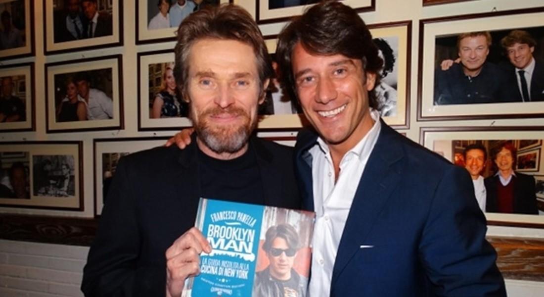 Francesco Panella con Willem Dafoe © ANSA