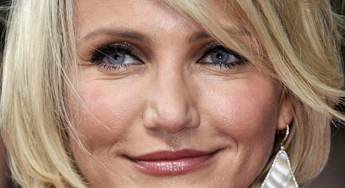 Cameron Diaz alla prima a Londra nel 2012 di What to Expect When You're Expecting © ANSA