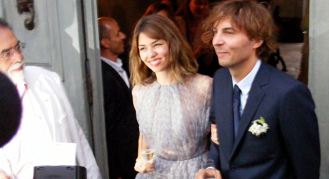 Sofia Coppola e Thomas Mars, sposi a Bernalda nel 2011 © ANSA