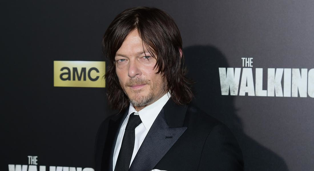 Norman Reedus, attore in The Walking Dead © AP