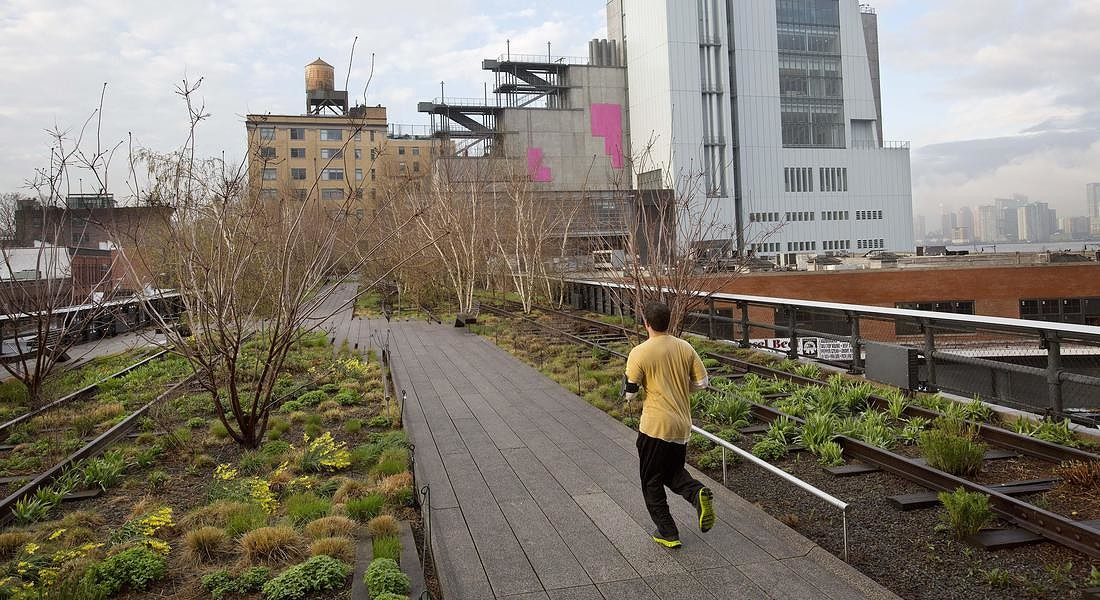 La High Line a New York © AP