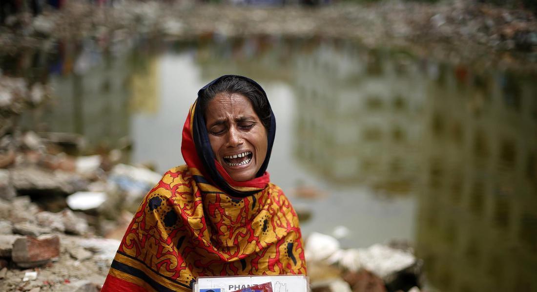 BANGLADESH RANA PLAZA SECOND ANNIVERSARY © EPA