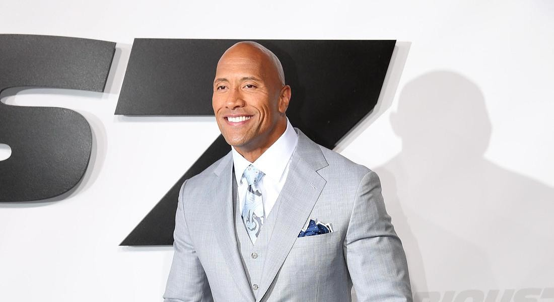 Dwayne 'The Rock' Johnson al secondo posto tra gli attori più pagati di Hollywood, secondo la classifica 2018 di Forbes © AP
