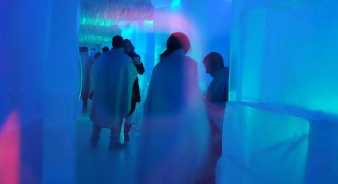Ice club, a Roma il bar costruito interamente di ghiaccio © ANSA