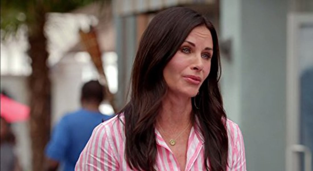 Courtney Cox in Cougar Town © Ansa