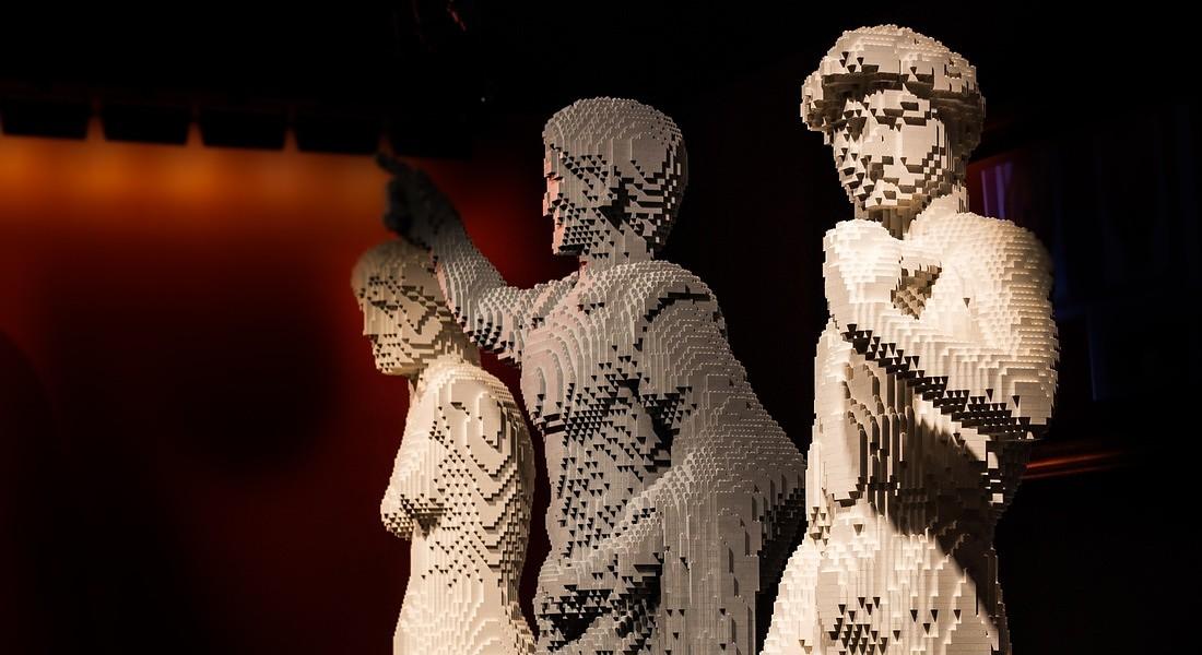 Mostre: a Milano l'arte formato Lego di Nathan Sawaya © ANSA