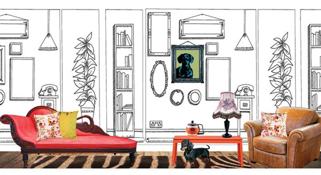 Il libro delle carte da parati da colorare di Natalia Price-Cabrera (Logos edizioni) © ANSA