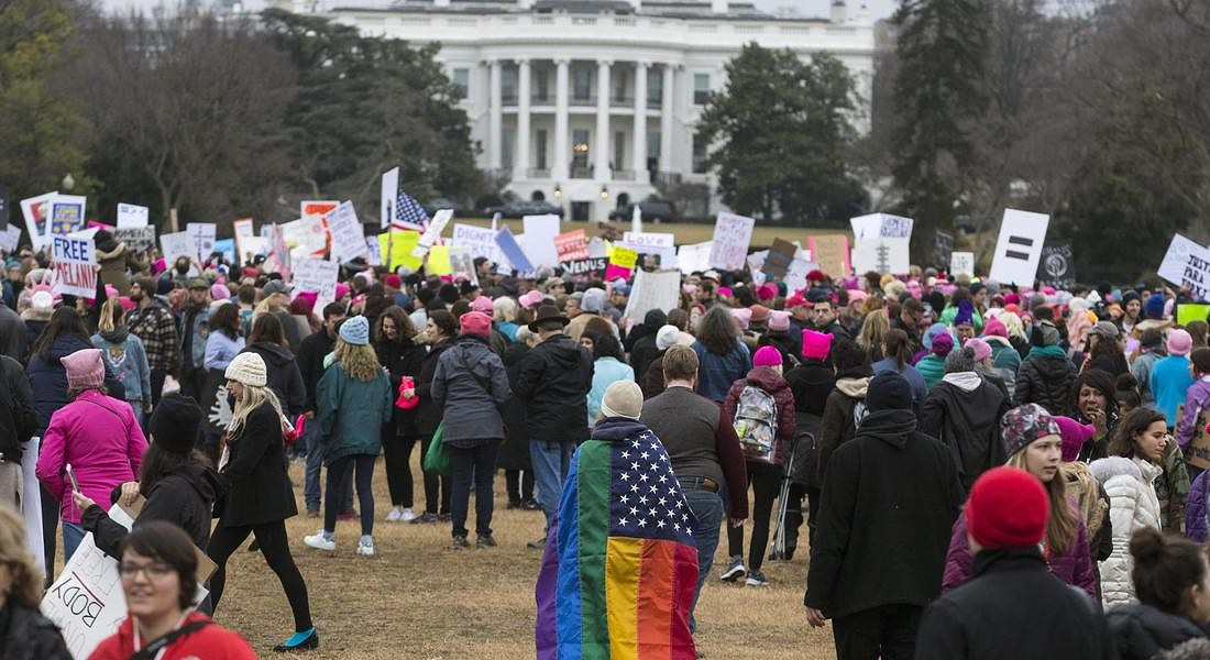 Women's March in Washington DC © EPA