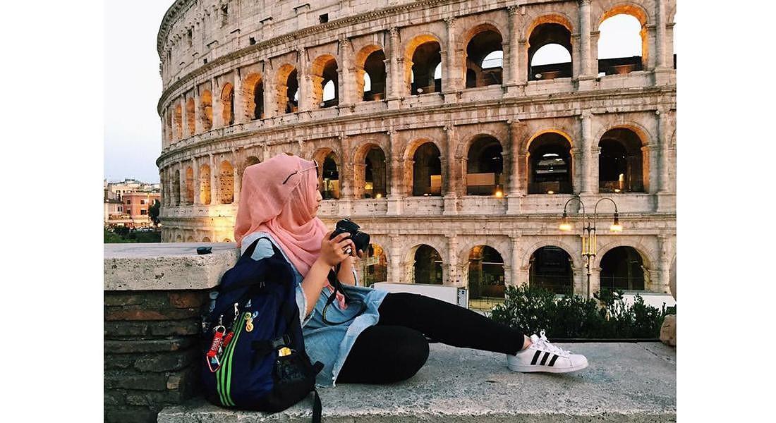 Araba al Colosseo © ANSA