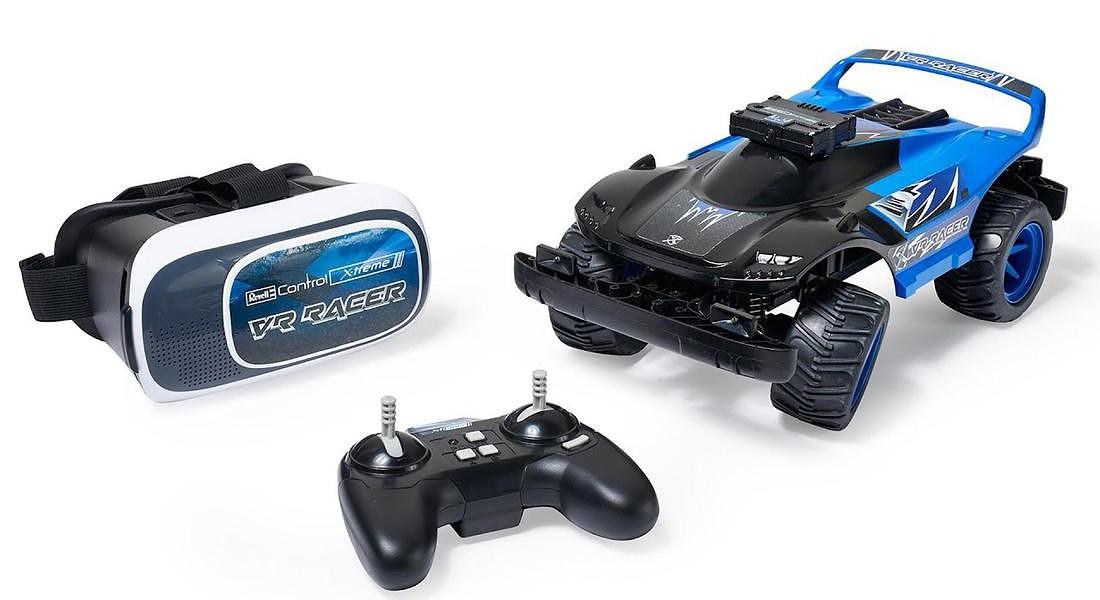 trend giochi revell Control X-treme Raver VR Race, Revell vincitore ToyAward 2017 © ANSA