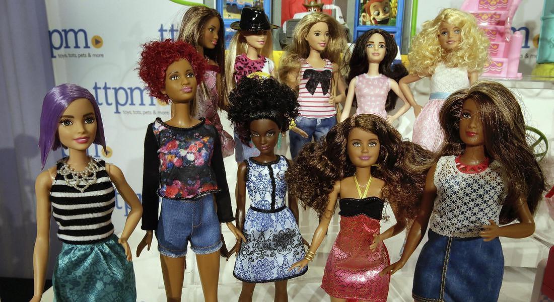 Una panoramica di Barbie fashionistas © AP