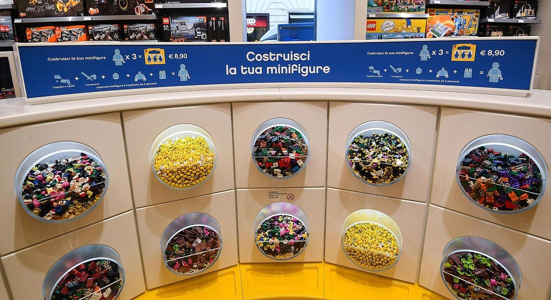Opening of a new LEGO megastore in Rome © ANSA