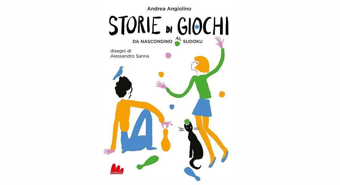 storie di giochi di Andrea Angiolino, disegni di Alessandro Sanna (Gallucci editore) © ANSA