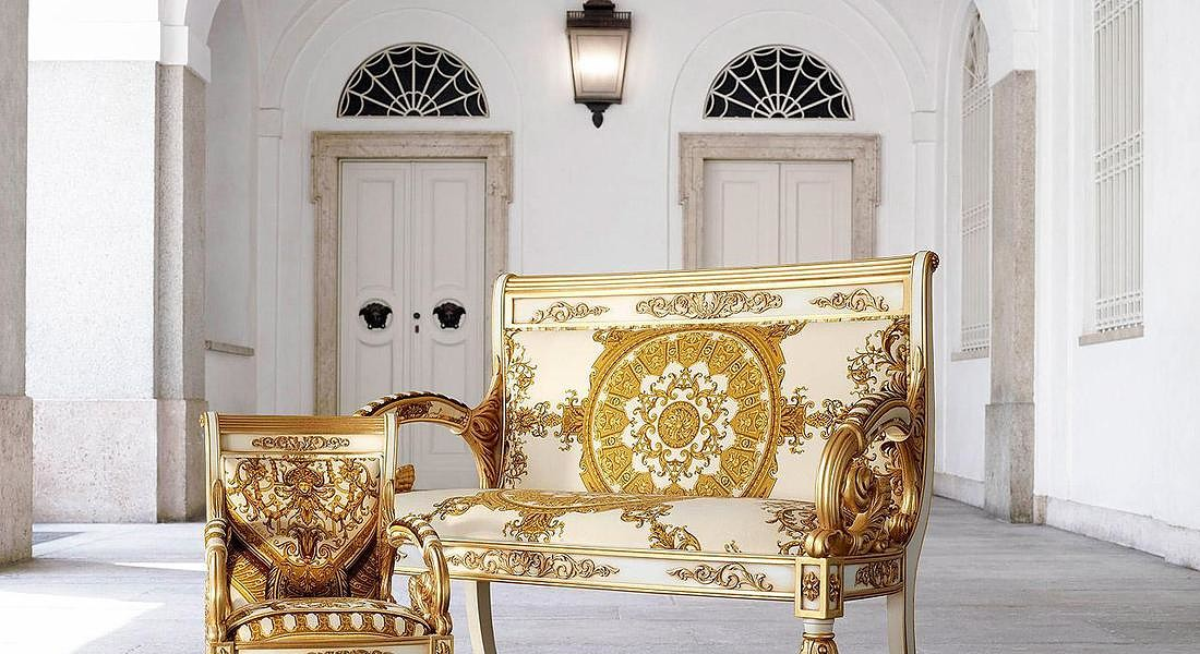 Versace Home Interior © ANSA