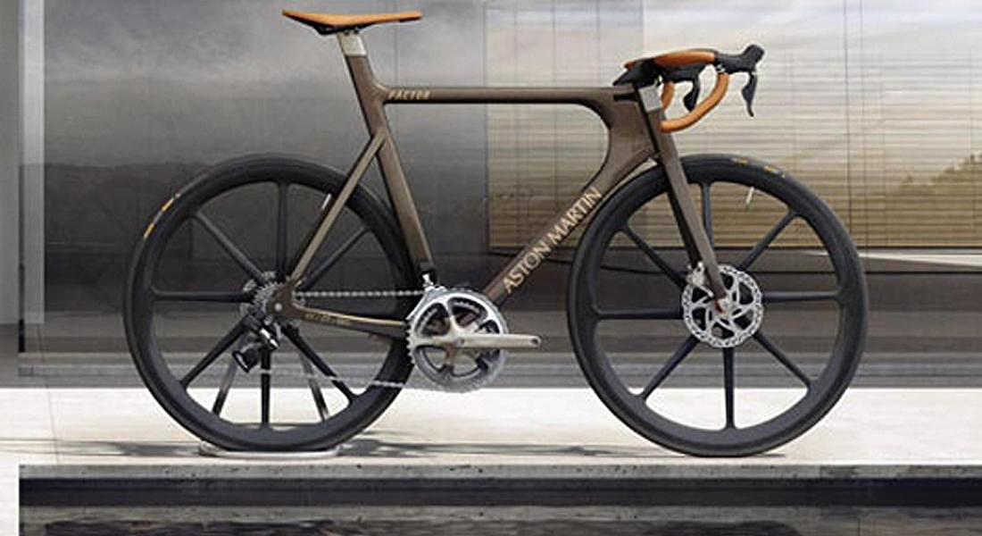 aston-martin-bicycle © ANSA