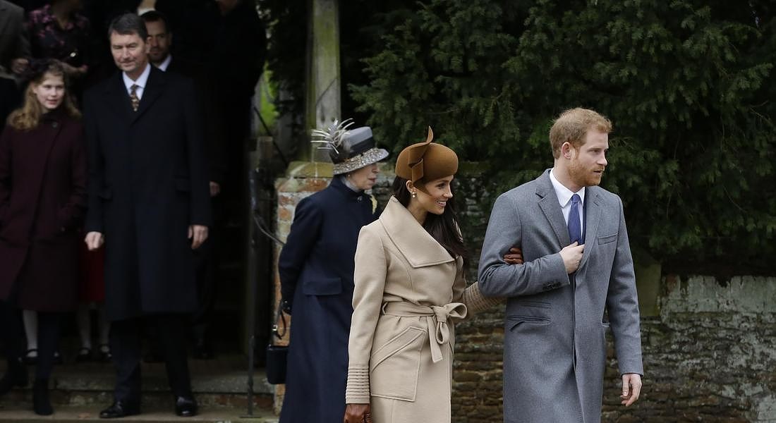 Britain Royals Christmas © AP