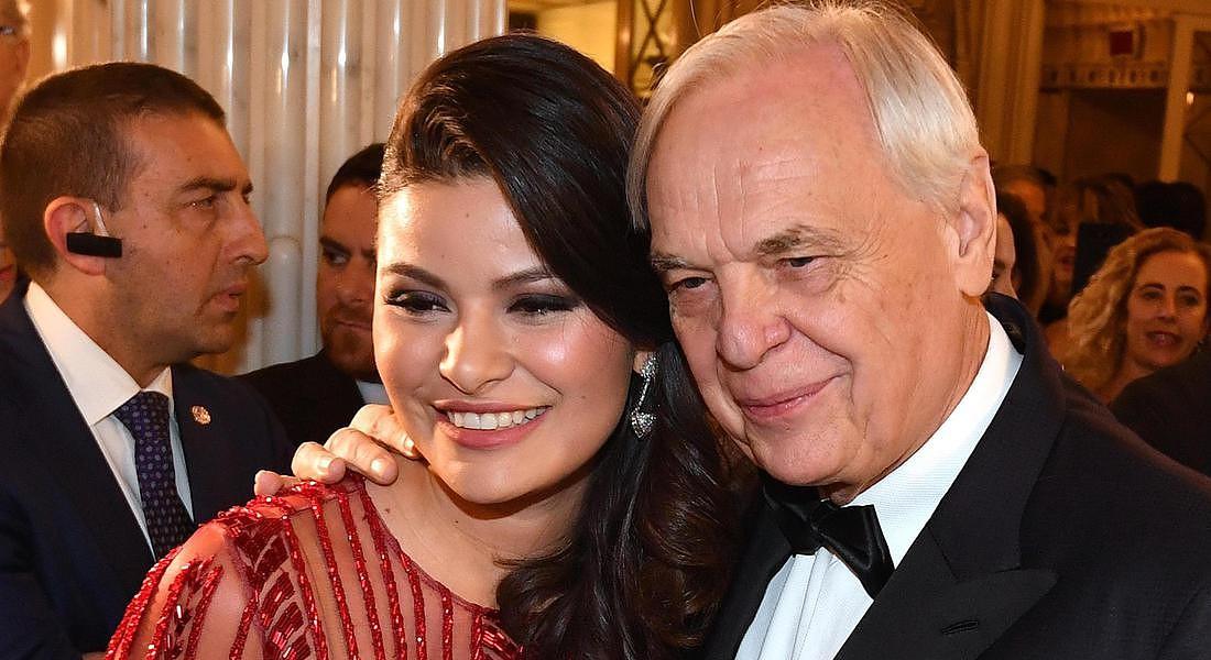 Il sovrintendente della Scala Alexander Pereira e la moglie Daniela Weisser © ANSA