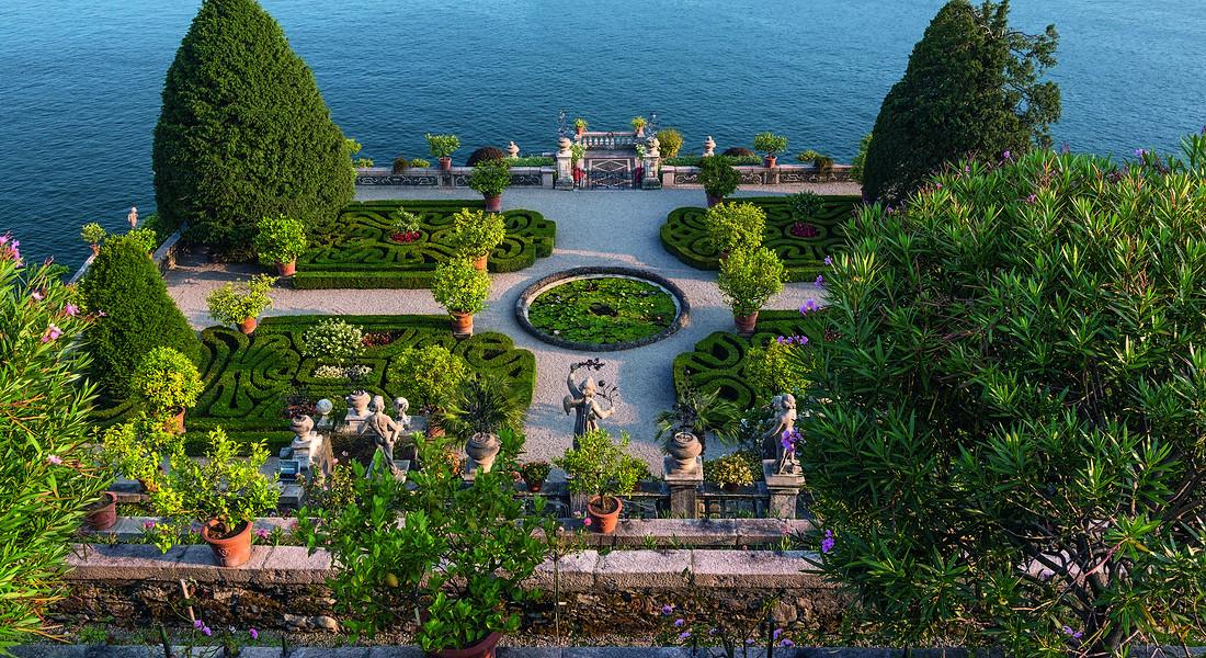 I Giardini delle Isole Borromee, Isola Bella, Veduta del Giardino d'Amore, foto di Dario Fusaro © Ansa