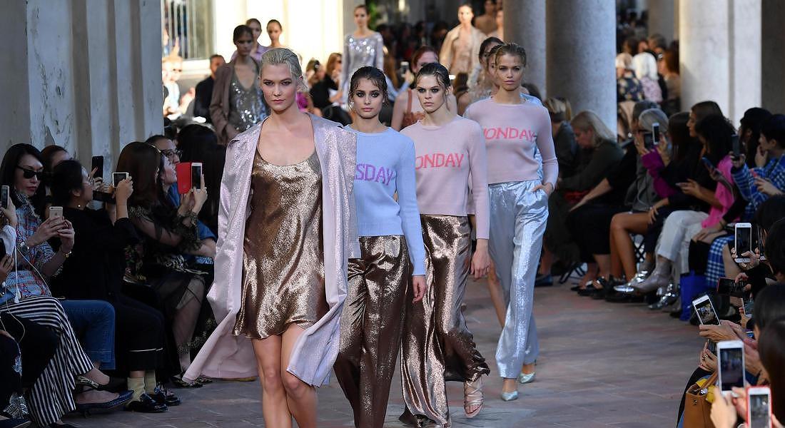 Moda: Milan fashion weelk; Alberta Ferretti © ANSA
