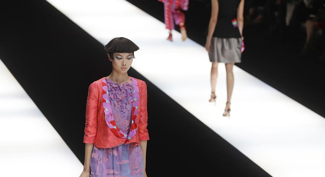 Italy Fashion Armani © AP