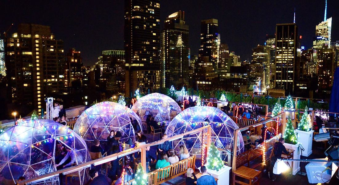 Igloo bar al Rooftop 230 Fifht New York © Ansa