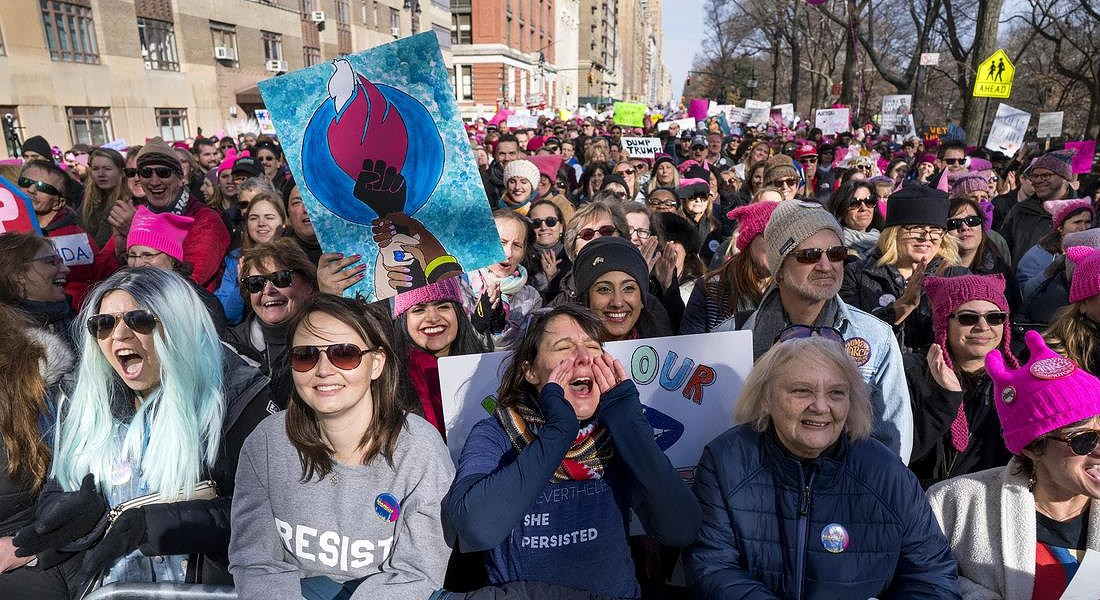 Womens March NYC © AP