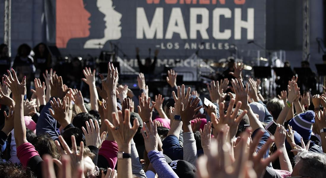 Womens March Los Angeles © AP