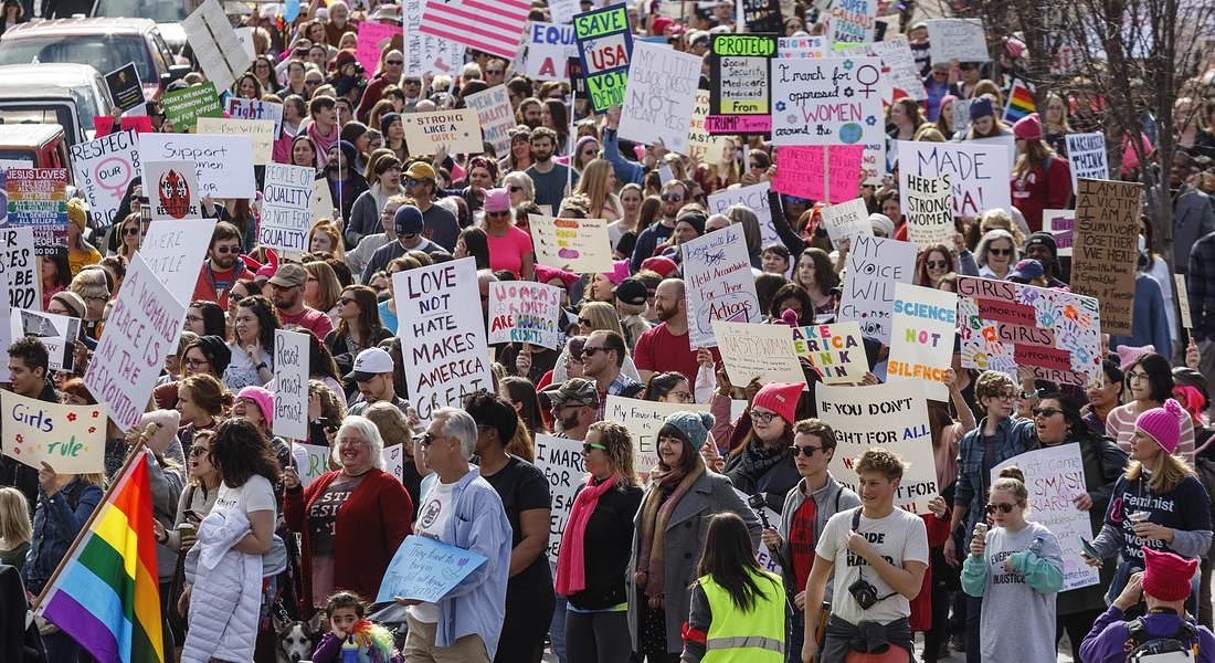 Womens March Tennessee © AP